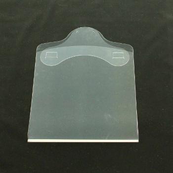 透明折ハンガー