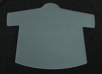 透明人型ハンガー