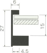 断面図(SH-202N) 数字の単位はmmです。