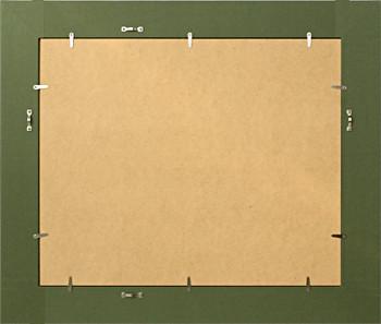 タイプ1の裏仕上げです。<br />大きいサイズ、または極端に長細いサイズは板パネル、ドロ足のタイプ2となります。