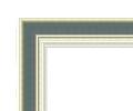 宮廷水彩銀+ブルーグレー