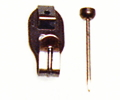 木壁、石膏ボード用鉄並Xフック・1本針