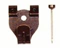 木壁、石膏ボード用鉄並Xフック・2本針